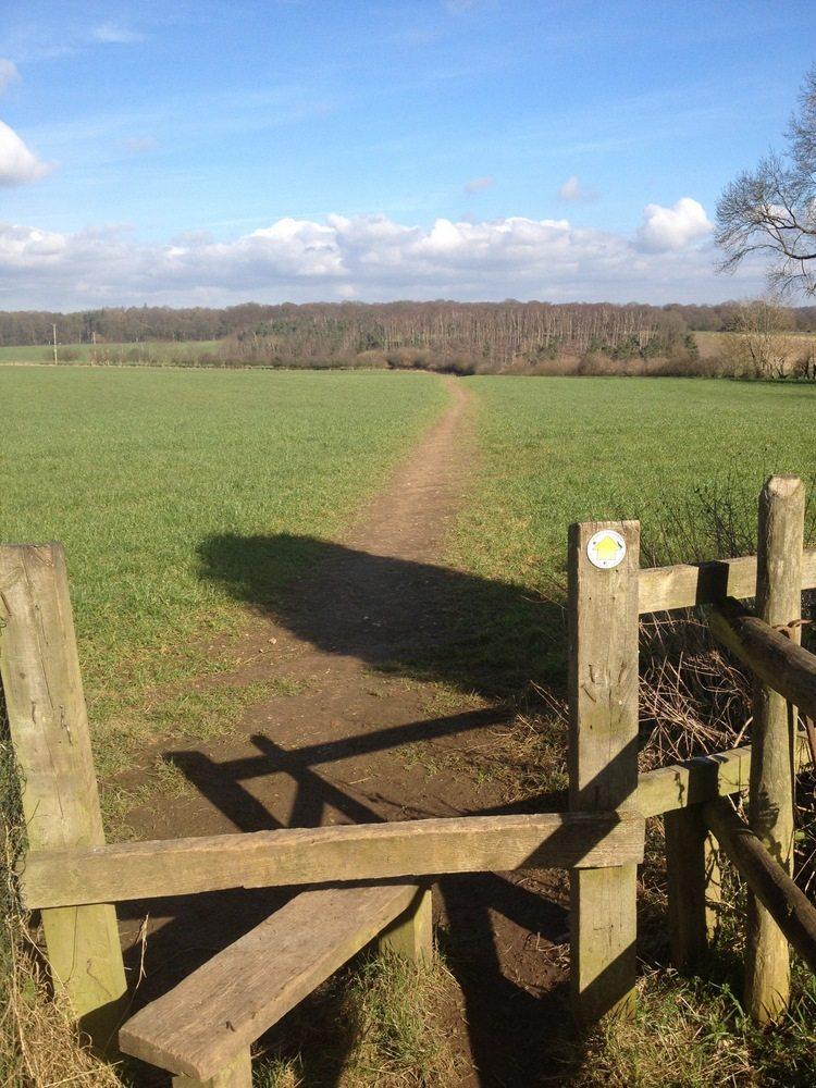 Oxfordshire footpath