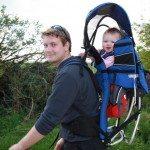 Baby in Kelty Kids Backpack