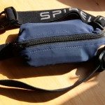 SPIbelt with phone, wallet and keys in