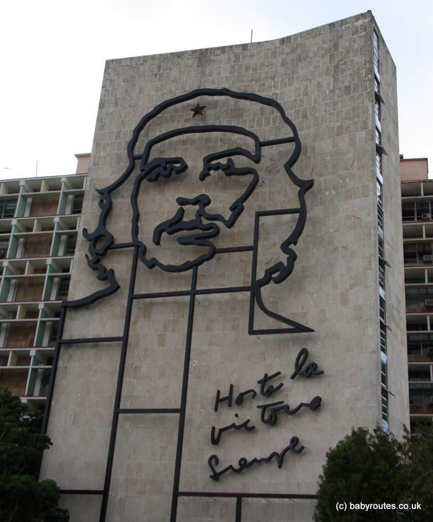 Che Guevara, Plaza de la Revolucion, Havana, Cuba