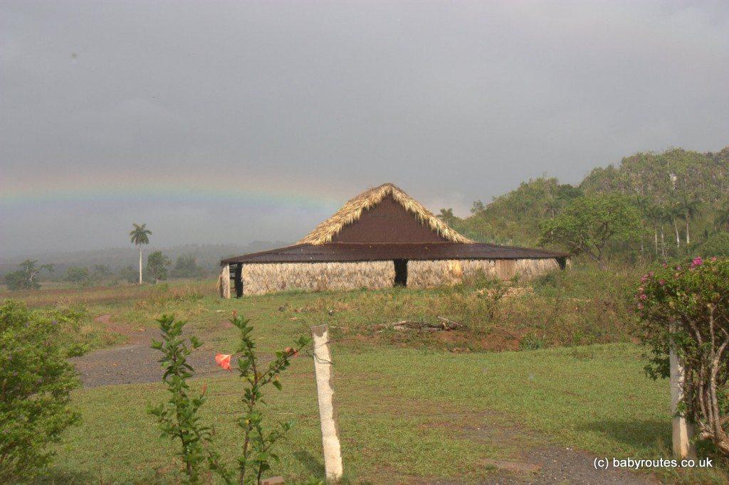 View from the farm veranda, Vinales, Pinar del Rio, Cuba