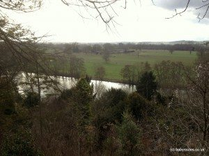 Views across Thames and beyond, Cliveden Walk
