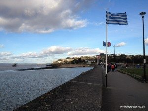 Clevedon seafront, Poets Walk, Clevedon