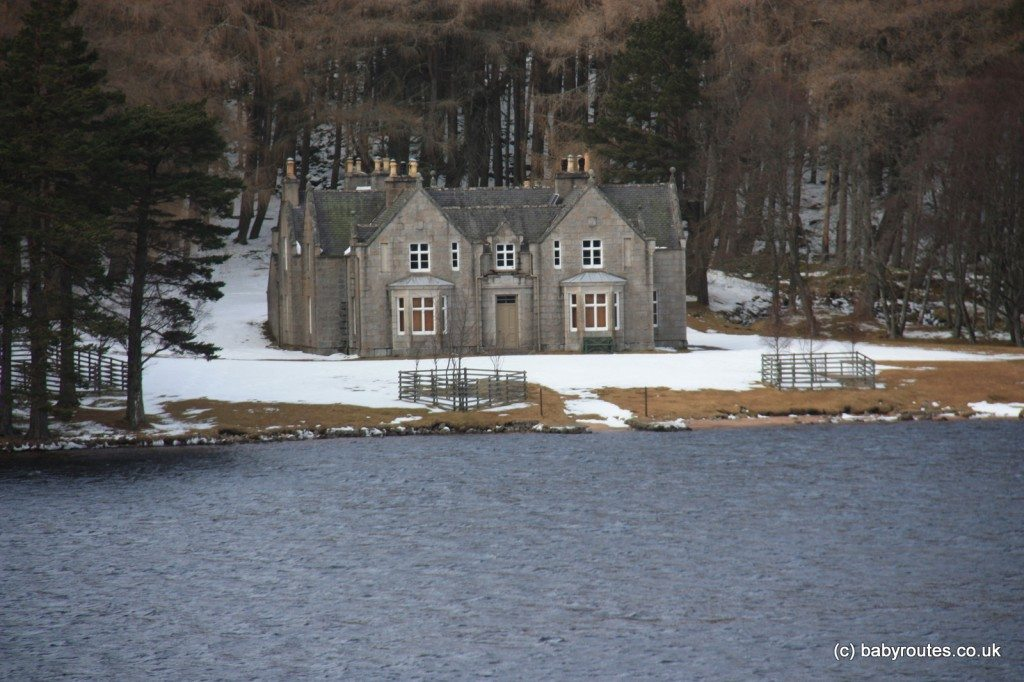 Glas-allt Shiel House, Loch Muick, Cairngorms, Scotland