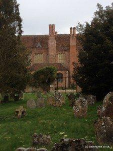 Mapledurham House from St. Margaret's Church