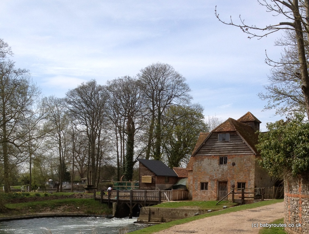 Watermill, Mapledurham, near Reading, Oxfordshire