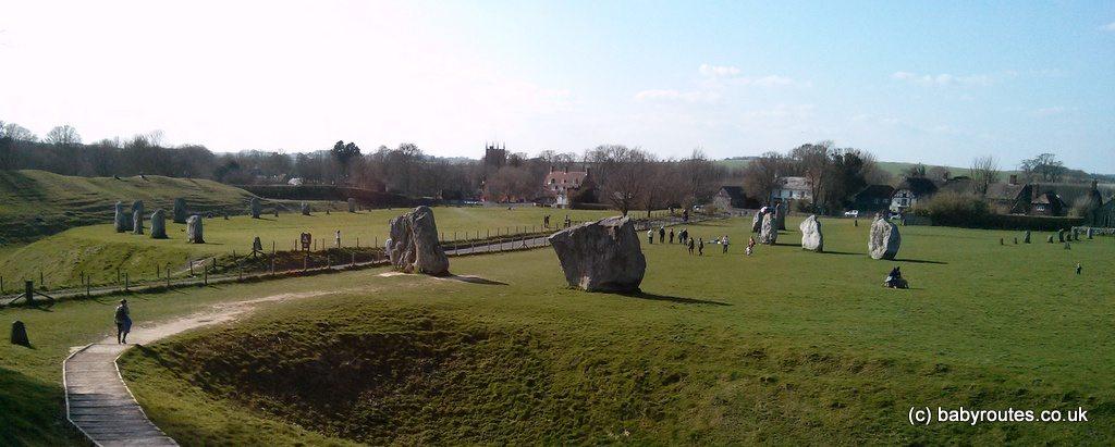 Stone circle and henge at Avebury