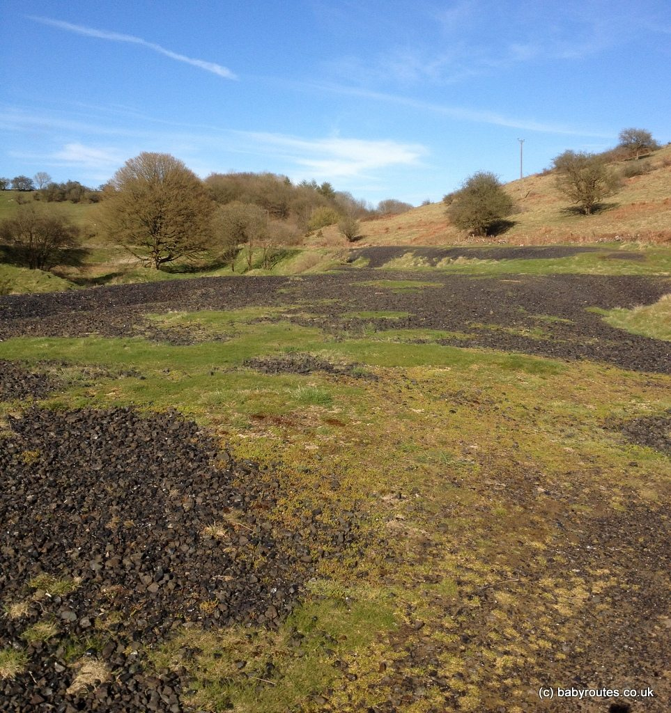 Evidence of Velvet Bottom's mining past