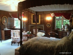 Bedroom at Haremere Hall