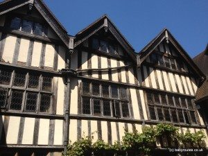 Tudor House at Hever Castle, Kent