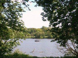 Lake walk at Hever Castle, Kent