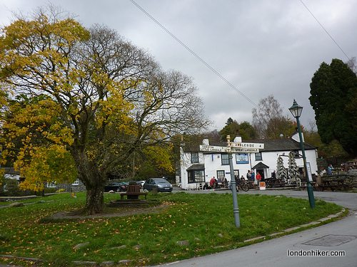 Elterwater village, Lake District