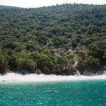 Secluded beach, Ithica, Greece