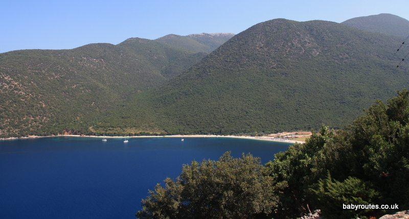 Antisamos Beach , Kefalonia, Greece