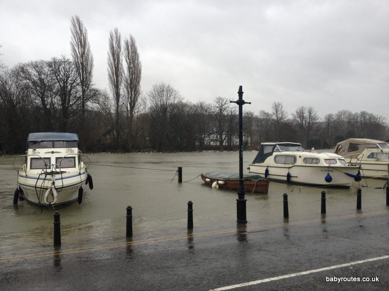 Henley on Thames Flooded