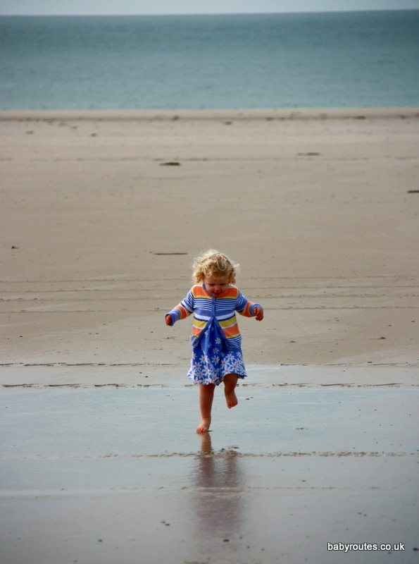 Jersey beach holiday with kids