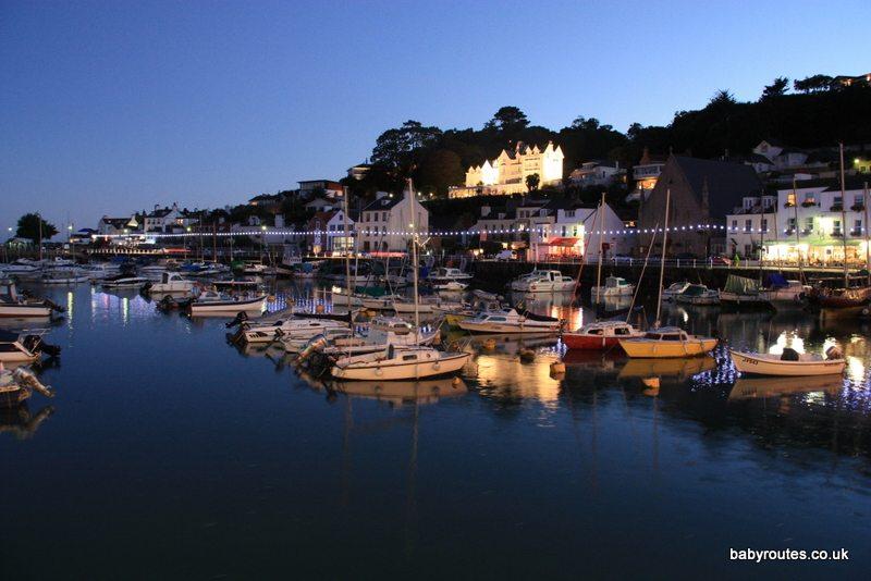 St. Aubin 's pretty waterfront, Jersey