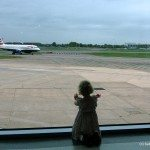 Heathrow Airport Terminal 5 with kids