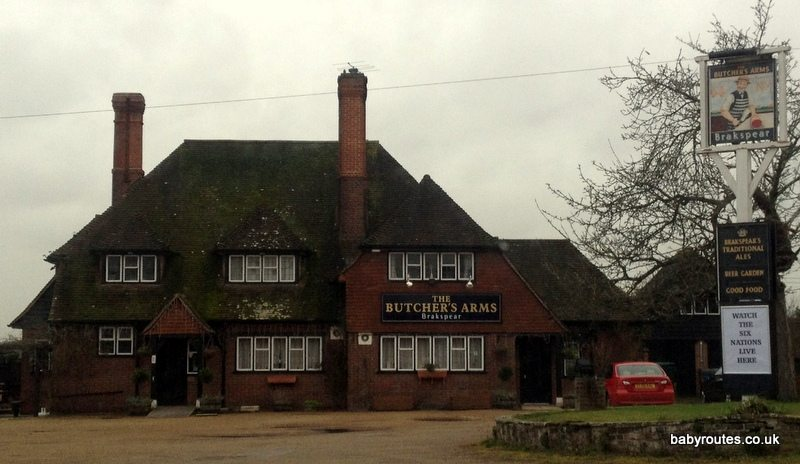 Butchers Arms, Sonning Common Pub Lunch Circular