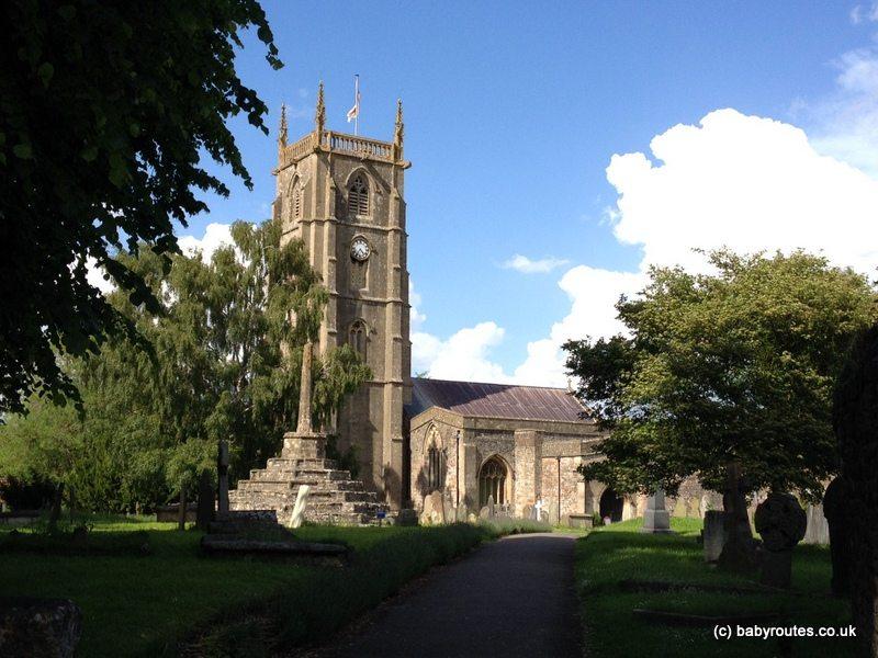 Chew Magna Church, Stanton Drew to Chew Magna Walk