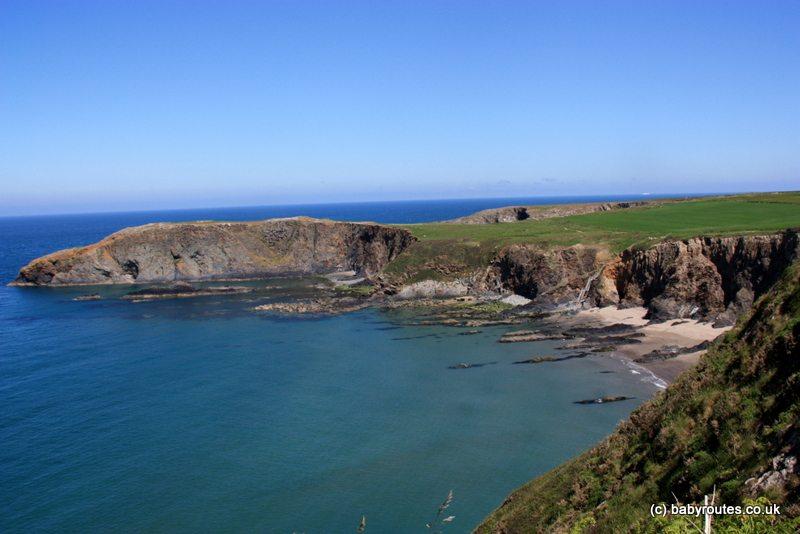 Abereiddy Pembroke Coast Path Walk