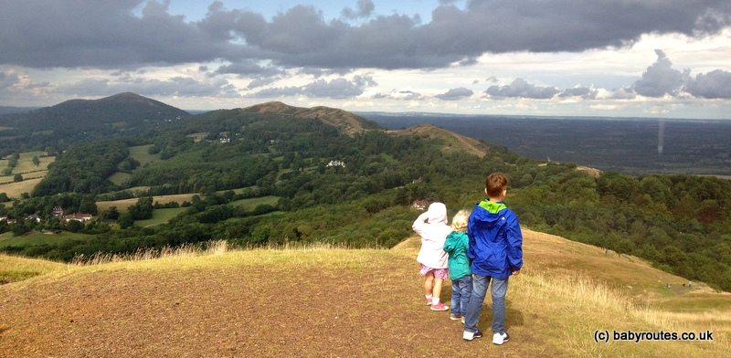 Herefordshire Beacon Walk, Malvern Hills