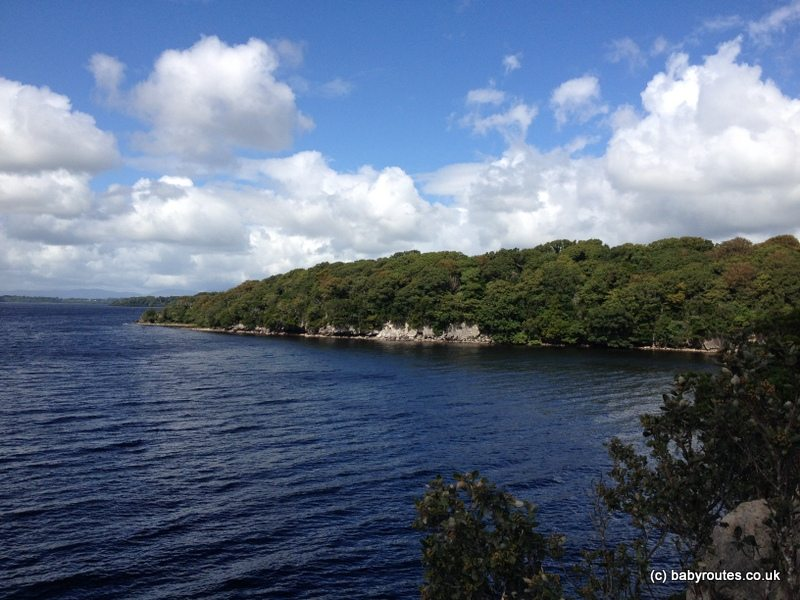 Ross Castle Lakes, Mountains and Forest Family Walk, Kerry, Ireland - Governors Roc