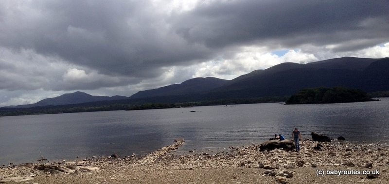 Lough Leane, Ross Castle to Governor's Rock Walk, Killarney National Park, Kerry, Ireland
