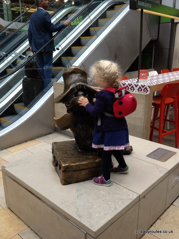 Paddington Bear Statue, Paddington Station, London