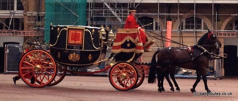 Carriages, Royal Mews, Baby Routes, London