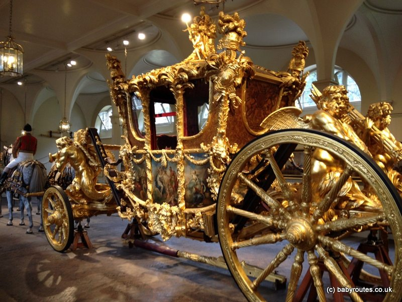 Royal Mews, London, Baby Routes Sightseeing Walk