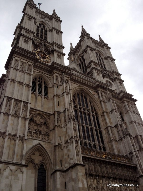Westminster Abbey, London, Baby Routes Sightseeing Walk