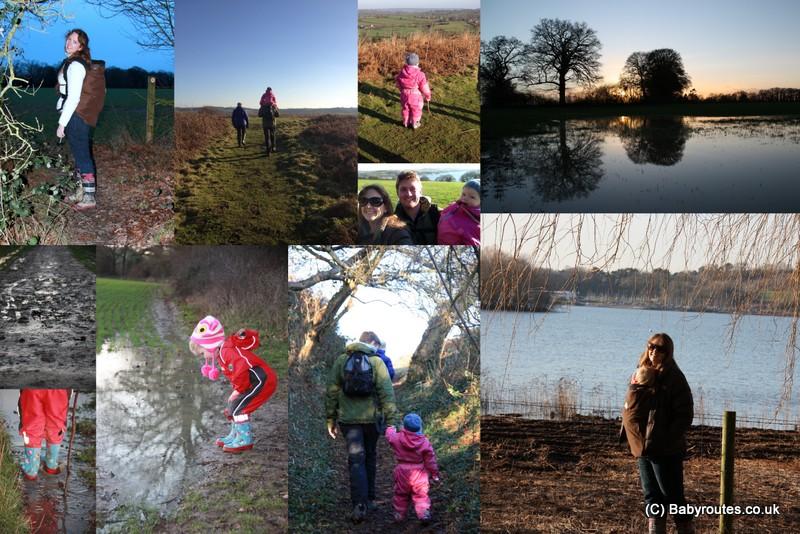 January walking
