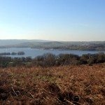 Chew Valley Lake from Baby Routes Knowle Hill Walk