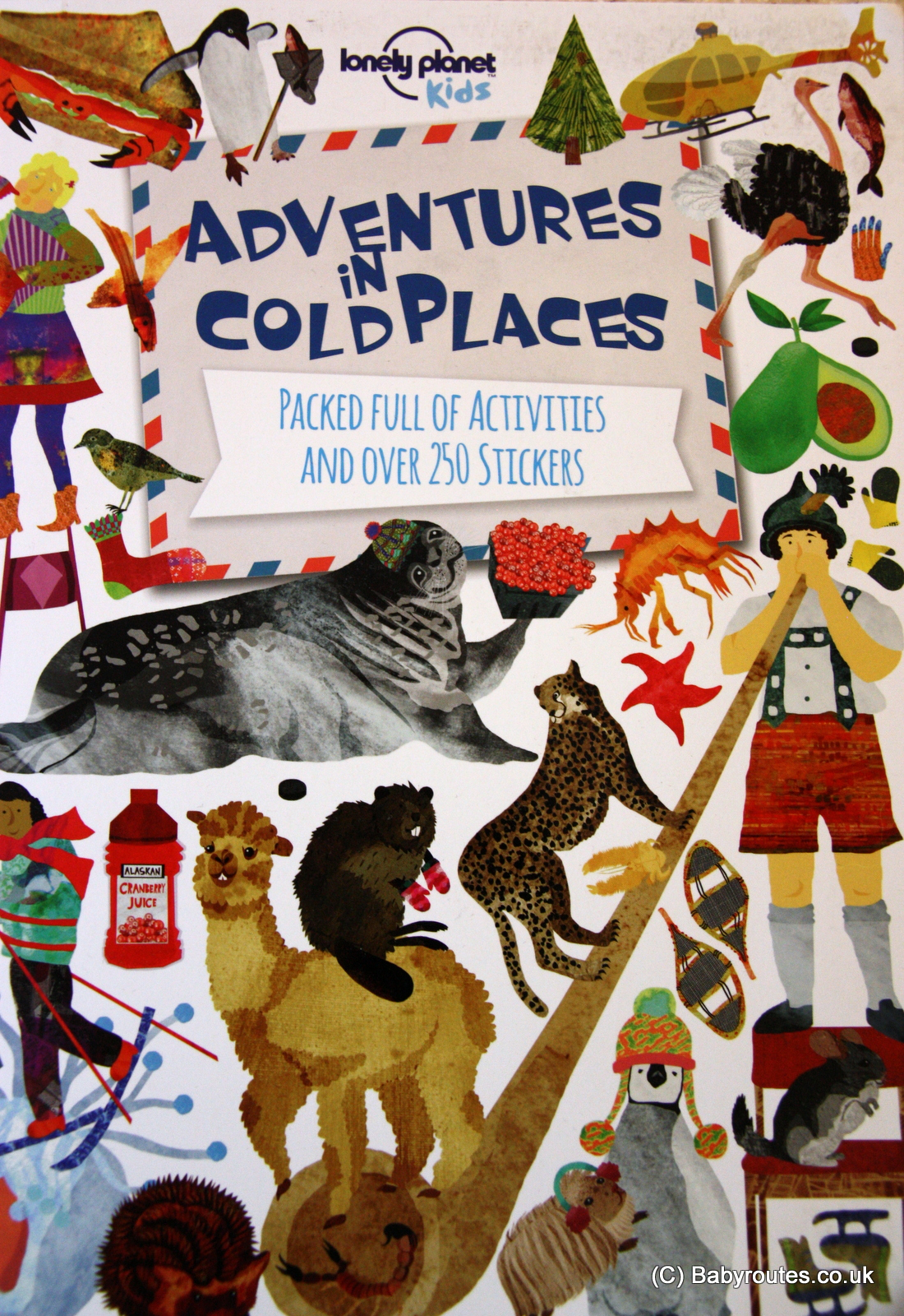 Lonely Planet Kids Books Review, Adventures in Cold Places