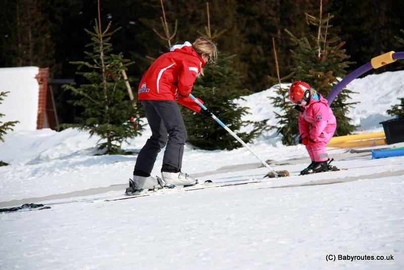 Skiing for preschoolers