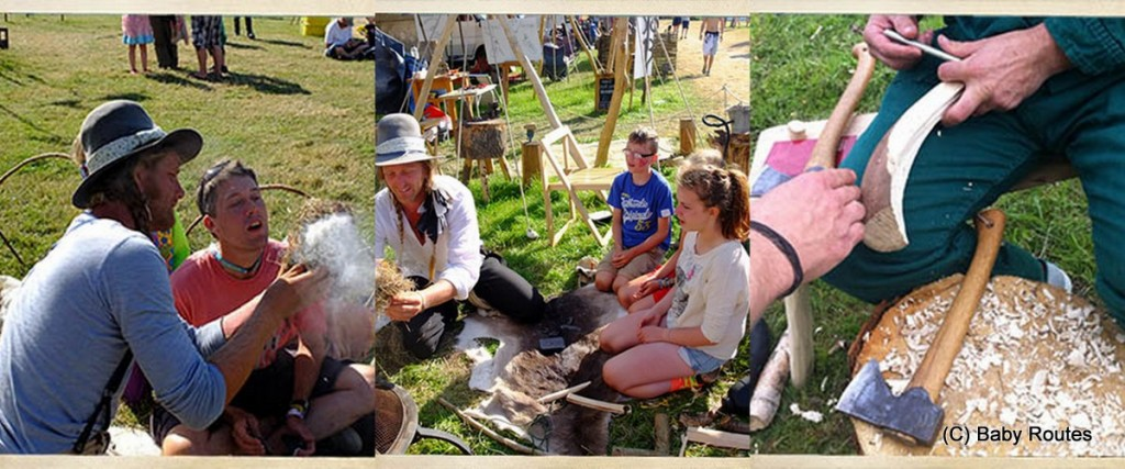 Escape to the Countryside 2015, bushcraft skills