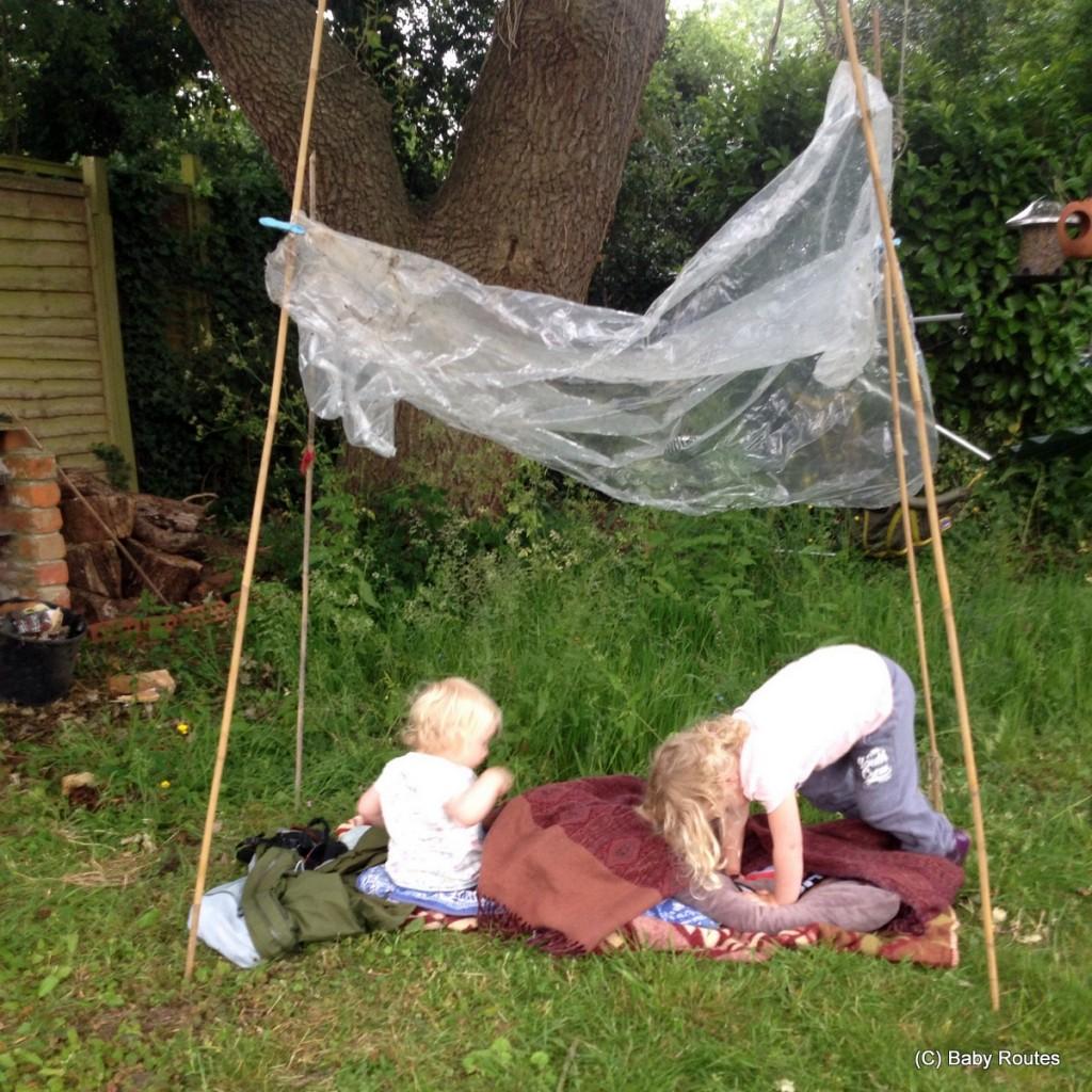 #30dayswild nature naps and rain shelters