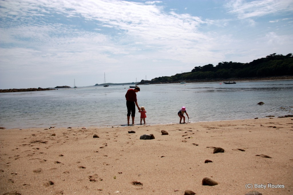 Porth Cressa Beach, Peninnis Head & Lighthouse Walk, St. Mary's, Isles of Scilly
