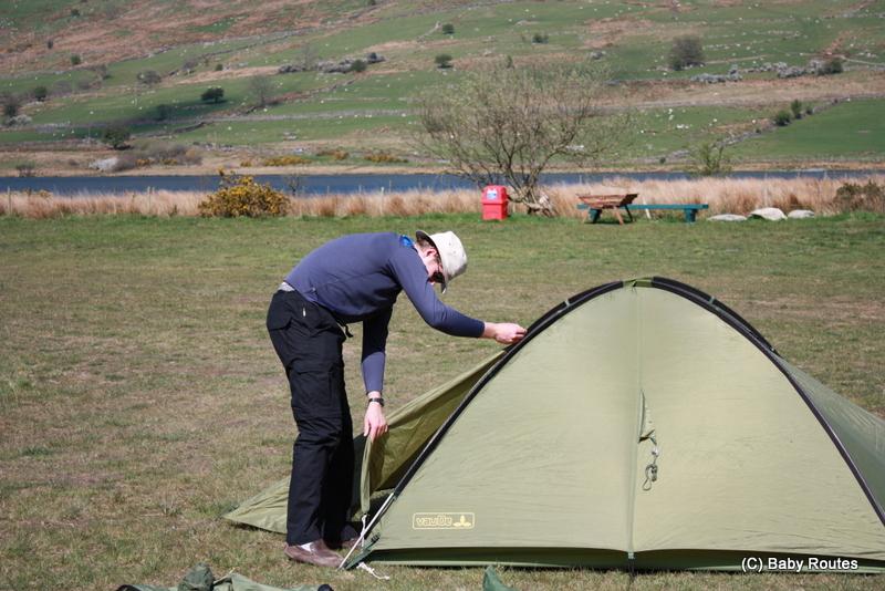 Camping, Snowdonia