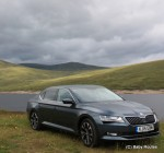 Skoda Superb review, Scotland, family car reviews, Baby Routes