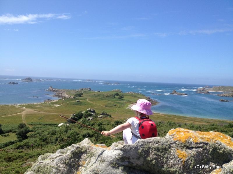 Samson Hill, Bryher Round Island Walk, Walks with Children, Isles of Scilly, Baby Routes