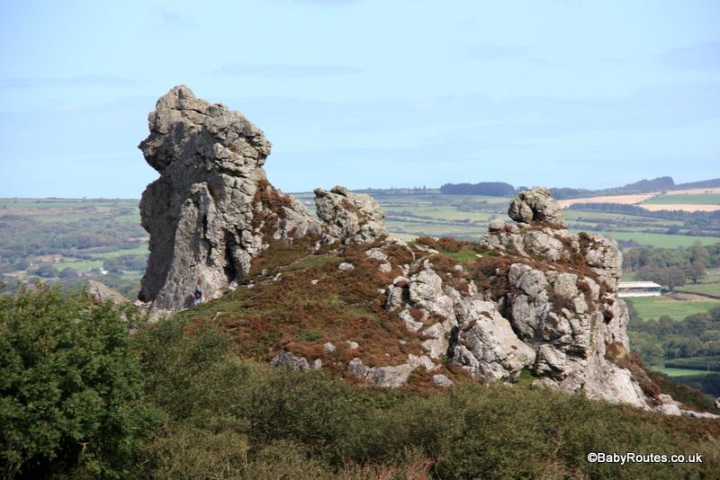 Treffgarne Rocks, Wolfs Castle, Pembrokeshire