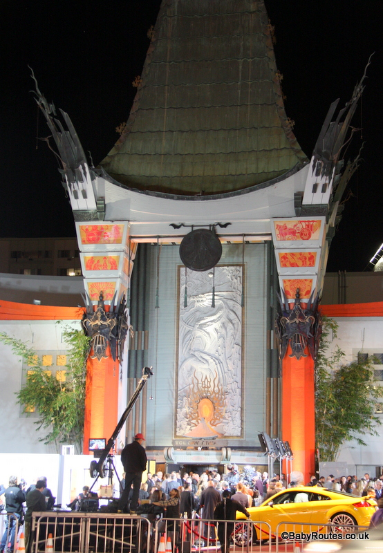 The Chinese Theatre, Hollywood, Los Angeles, California