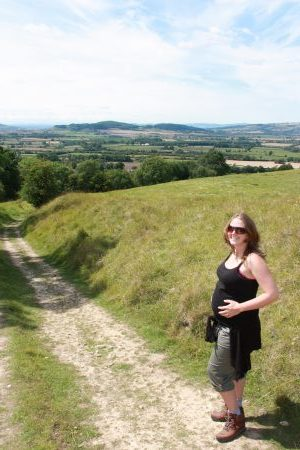 Hiking when pregnant in the Cotswolds