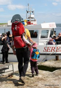 Deuter Kid Comfort II child carrier review, Northumberland
