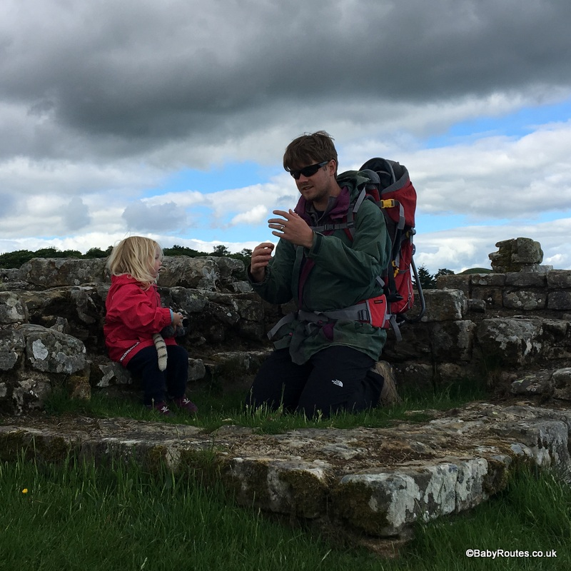 Deuter Kid Comfort II child carrier review, Northumberland