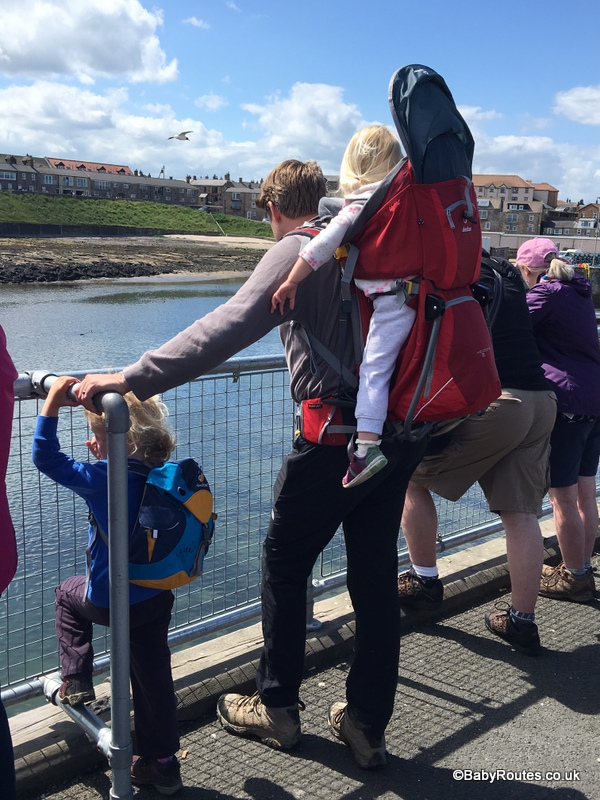 Seahouses, Farne Islands with children, Northumberland