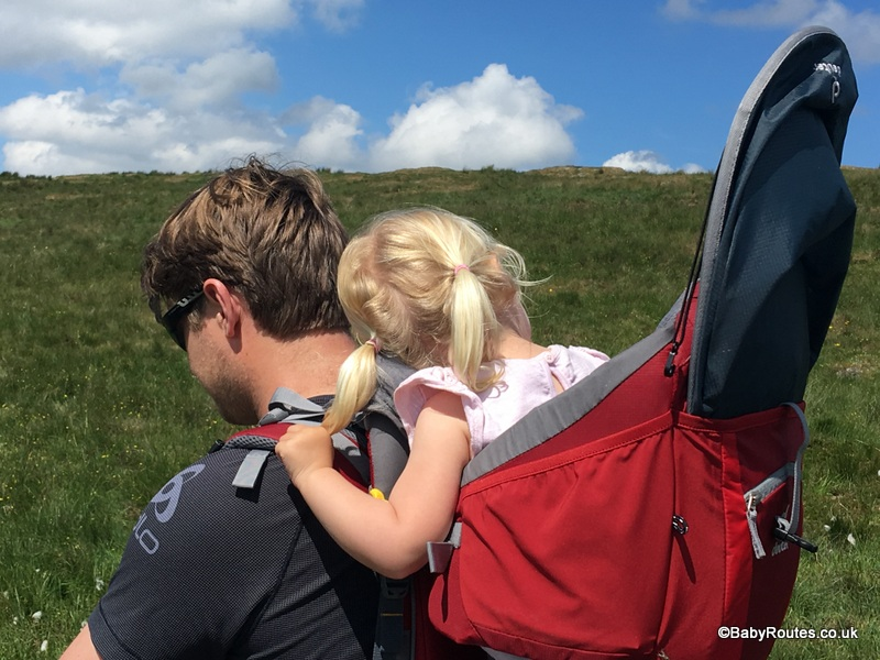 Deuter Kid Comfort II Rucksack Review, Northumberland