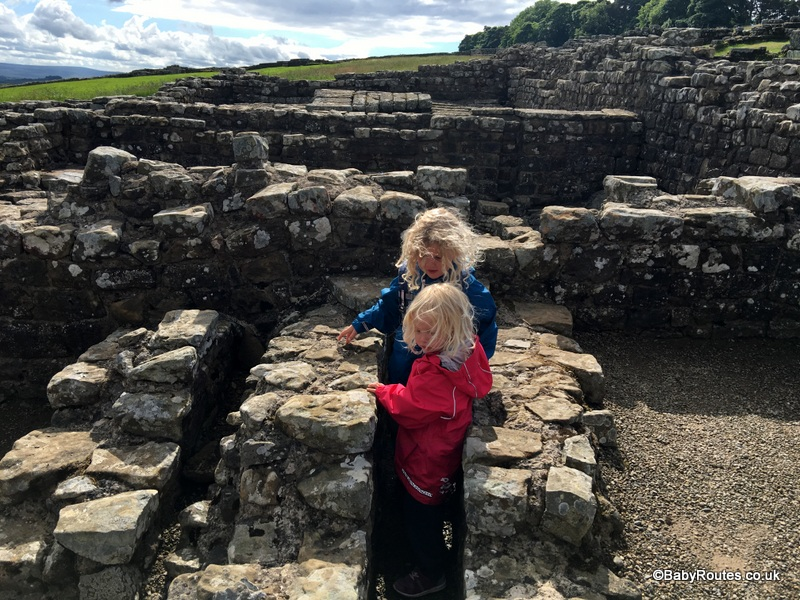 Housesteads Roman Fort, Northumberland, Family Days Out